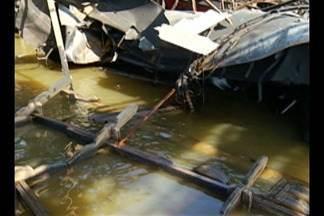 Começam as investigações da causa da explosão de uma balsa em Abaetetuba - Uma pessoa morreu e cinco ficaram feridas.