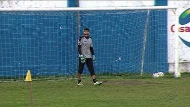 Confiança faz novo treino fechado e Ailton Silva revela apenas o goleiro titular - Confiança faz novo treino fechado e Ailton Silva revela apenas o goleiro titular
