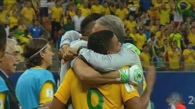 Treino aberto da Seleção em Manaus é para retribuir carinho, diz Tite - Treinador revela que público apoiou Brasil contra Colômbia em 2016, em seu segundo jogo no comando. Treino para o público será no dia 2 de setembro, na Arena da Amazônia.