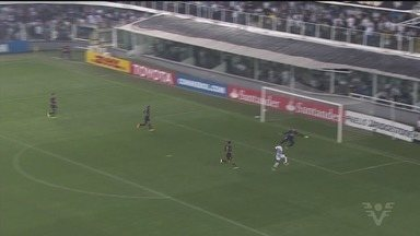 Santos vence o Atlético-PR e avança às quartas de final da Libertadores - Com gol de Bruno Henrique e Vanderlei inspirado, Peixe bateu o Furacão na Vila Belmiro.