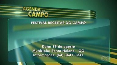 Veja eventos voltados para o agronegócio em Goiás - Entre marcações na Agenda do Campo está Festa da Romaria do Muquém, em Niquelândia.