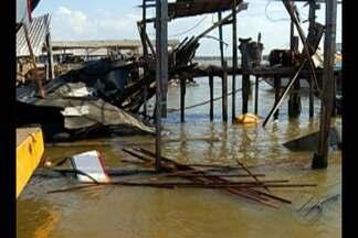 Dono de embarcação que explodiu em Barcarena deve prestar depoimento à Polícia - Uma pessoa morreu e cinco ficaram feridas.