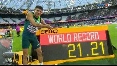 JPB2JP: Entrevista com Petrúcio Ferreira: 2 ouros no Mundial de Atletismo Paralímpico - Competição em Londres.