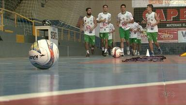 São Lucas busca recuperação nesta sexta após duas derrotas seguidas - O time de Paranavaí recebe o Toledo tentando melhorar a colocação na Chave Ouro do Paranaense de Futsal.