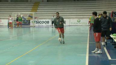 Em nono, Umuarama tenta chegar ao G-8 na Chave Ouro de Futsal - O time joga neste sábado, 12, fora de casa, contra o Marechal Cândido Rondon.