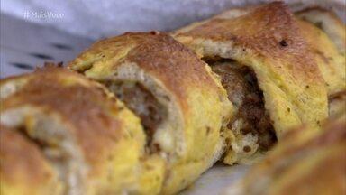 Pão Recheado - Confira a receita para um lanche caseiro, delicioso e muito fácil de fazer!