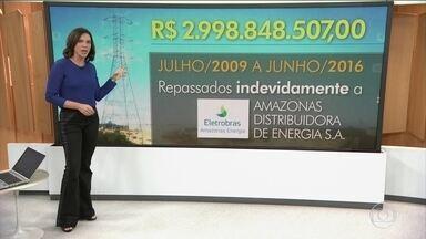Eletrobras terá que devolver quase R$ 3 billhões a consumidores - Aneel determinou a devolução do dinheiro à chamada Conta de Consumo de Combustíveis, que é um fundo do setor elétrico para bancar o funcionamento de termelétricas.