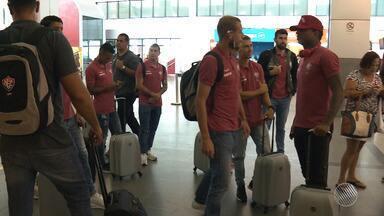 Vitória viaja para São Paulo com missão de vencer o Corinthians, líder do Brasileirão - O Leão busca um feito inédito, que é vencer o Timão fora de casa.