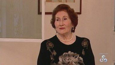 Dona Magdalena Arce Daou recebe homenagem póstuma em centro de convivência - Missa de sete anos de falecimento foi celebrada.