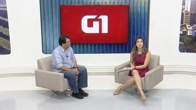 G1 entrevista candidato Eduardo Braga - G1 realiza cobertura da eleição suplementar para governo do Amazonas.