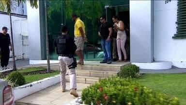Operação da Polícia Civil da Bahia com apoio de policiais sergipanos prendeu duas pessoas - Operação da Polícia Civil da Bahia com apoio de policiais sergipanos prendeu duas pessoas