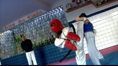 Aos 12 anos, paraibana se prepara para defender o Brasil na primeira disputa internacional - Karen Eduarda faz parte da seleção brasileira de taekwondo que vai disputar o Pan-Americano, na Costa Rica