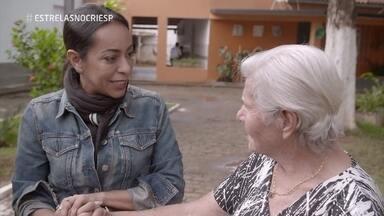 Samantha Schmutz conhece o Lar Irmã Sheilla - Projeto em Colatina (ES) é auxiliado pelo Criança Esperança