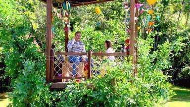 Luciano Huck ajuda a realizar os desejos das crianças no 'Árvore dos Desejos' - Apresentador realiza desejos solidários das crianças em Blumenau