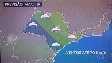Confira a previsão do tempo para este domingo (20) - Confira a previsão do tempo para este domingo (20).