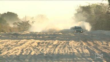 Motoristas reclamam de trecho de rodovia no Maranhão - Trecho de 100 Km da BR-226 virou um pesadelo para os motoristas depois que uma reforma começou a ser feita.