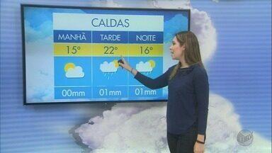 Confira a previsão do tempo deste domingo no Sul de Minas - Confira a previsão do tempo deste domingo no Sul de Minas