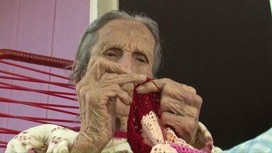 Moradora de Verê completa 100 anos com bastante lucidez - A família prepara grande festa para comemorar o centenário da matriarca.
