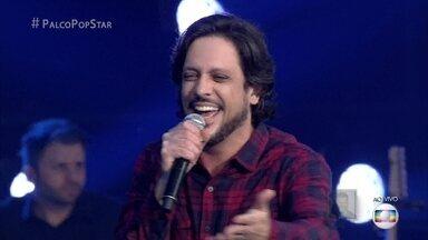 Lucio Mauro Filho canta 'São Gonça' - Música escolhida é do cantor Seu Jorge