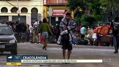 Usuário de crack fala da luta para se libertar do vício - Dependentes continuam vagando pelas ruas do Centro de São Paulo. Conheça histórias de vida por trás do vício.