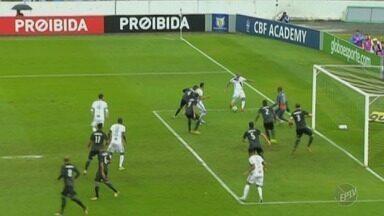 Ponte Preta vence o Botafogo no fim da partida pelo Brasileirão - Jogo terminou em 2 a 1.
