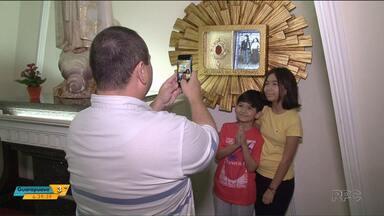 Cianorte recebe relíquias de pastorinhos de Fátima - Os pastorinhos foram canonizados após o milagre da cura do menino Lucas, em Juranda.