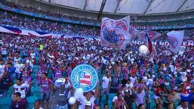 Bahia bate o Vasco por 3 x 0 na Arena Fonte Nova; Mendonza marca dois gols e se destaca - Confira as notícias do tricolor baiano.