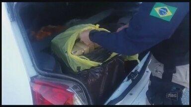 Operação apreende 178 kg de maconha em Biguaçu - Operação apreende 178 kg de maconha em Biguaçu