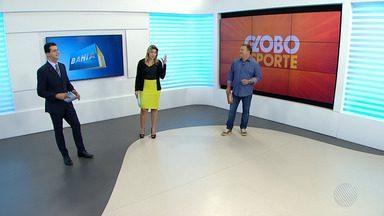 Bahia e Vitória 'se dão bem' no fim de semana: veja nos destaques do GE - Veja na reportagem do esporte no Bahia Meio Dia.