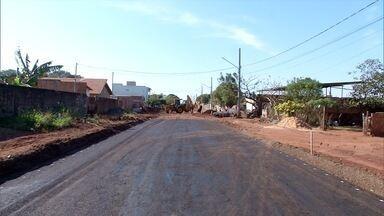 Obras de drenagem e esgoto chegam ao bairro São Caetano, em Campo Grande - Obras de drenagem e esgoto chegam ao bairro São Caetano, em Campo Grande