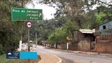 Ministério da Justiça anula a ampliação da reserva indígena do Jaraguá - Até hoje, os índios podiam ocupar uma área de aproximadamente 512 hectares. É uma área laranja, entre a rodovia dos Bandeirantes, o Rodoanel e a Anhanguera