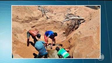 Trabalhador morre soterrado durante escavação de poço no interior do Piauí - Trabalhador morre soterrado durante escavação de poço no interior do Piauí