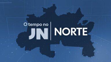 Veja a previsão do tempo para a terça-feira (22) na Região Norte - Veja a previsão do tempo para a terça-feira (22) na Região Norte