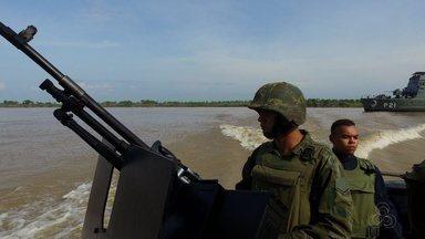 Redução de orçamento das Forças Armadas pode comprometer segurança na fronteira no AM - Anúncio do governo federal de redução no orçamento das forças armadas atinge trabalho de vigilância nas fronteiras da Amazônia