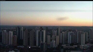 Confira como fica o tempo em Goiás nesta sexta-feira (25) - Previsão é de tempo seco sem previsão de chuva.