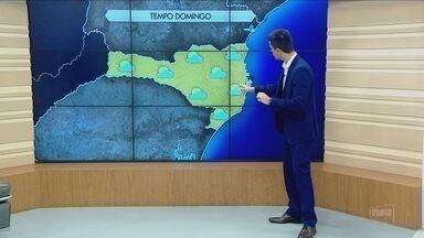 Confira a previsão do tempo para Santa Catarina neste sábado (26) - Confira a previsão do tempo para Santa Catarina neste sábado (26)