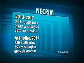 Necrim tem mais de 80% de acordos em Presidente Prudente - Só neste ano, foram 280 audiências.
