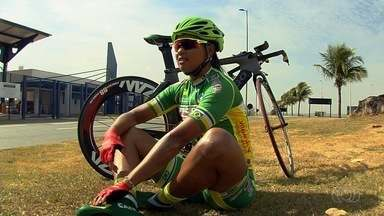 Família Fernandes se destaca no Campeonato Brasileiro de ciclismo - Campeã, Clemilda tem participado de muitas competições em 2017.