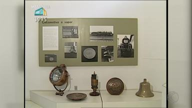 'Memória MGTV' conta a história do Museu Ferroviário de Juiz de Fora - Reportagem mostra objetos antigos que simbolizam a época do transporte de trens, que foi fundamental para o crescimento da cidade.