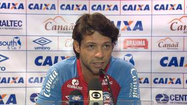 Bahia: Preto Casagrande fala sobre partida contra o Botafogo nesse domingo (27) - O jogo acontece na Arena Fonte Nova, em Salvador.