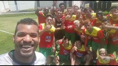 Jogadores do Juazeirense mandam recado para o GE - Confira as notícias sobre o time do interior baiano.