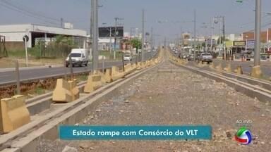 Governo do estado rompe em definitivo com Consórcio VLT - Governo do estado rompe em definitivo com Consórcio VLT