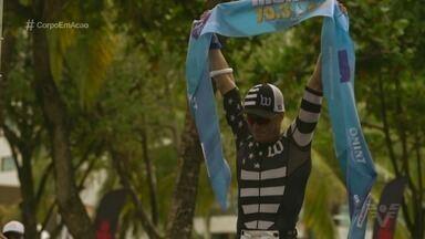 Triatleta de Santos comemora título do Iron Man 70.3 - Francisco Sartoré brilhou na bela Maceió, Alagoas.