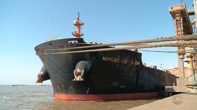 Demora para dragar canal do Porto de Rio Grande prejudica operações - Assista ao vídeo.