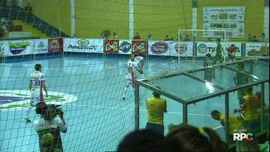 Cascavel e Paranavaí se enfrentam pelo Paranaense de Fustal - Cascavel é líder do campeonato
