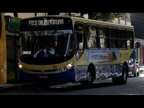Ônibus coletivo leva turistas e moradores até o Pico do Ibituruna em Governador Valadares - Viagens acontecem todos os dias da semana.