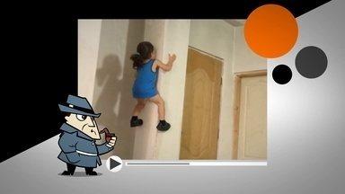 Detetive Virtual: garotinho que sobe pelas paredes pode ser filho do Homem-Aranha? - Ele sobe na parede com tanta facilidade que realmente parece ser filho do Homem-Aranha. Só que todo mundo sabe que super-herói só existe nos quadrinhos, no cinema. Ou será que não?