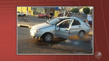 Jovem de 17 anos morre após capotar veículo em Barreiras - No carro estavam outros 4 jovens.
