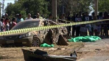 Lei Seca já flagrou 16 mil motoristas bêbados em Brasília este ano - No fim de semana, mais uma tragédia: um adolescente bêbado ao volante matou duas mulheres e um bebê.