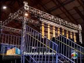 Devolução de dinheiro de ingressos do show do DJ Alok começa nesta segunda-feira - Evento foi cancelado devido ao desabamento de parte do palco.